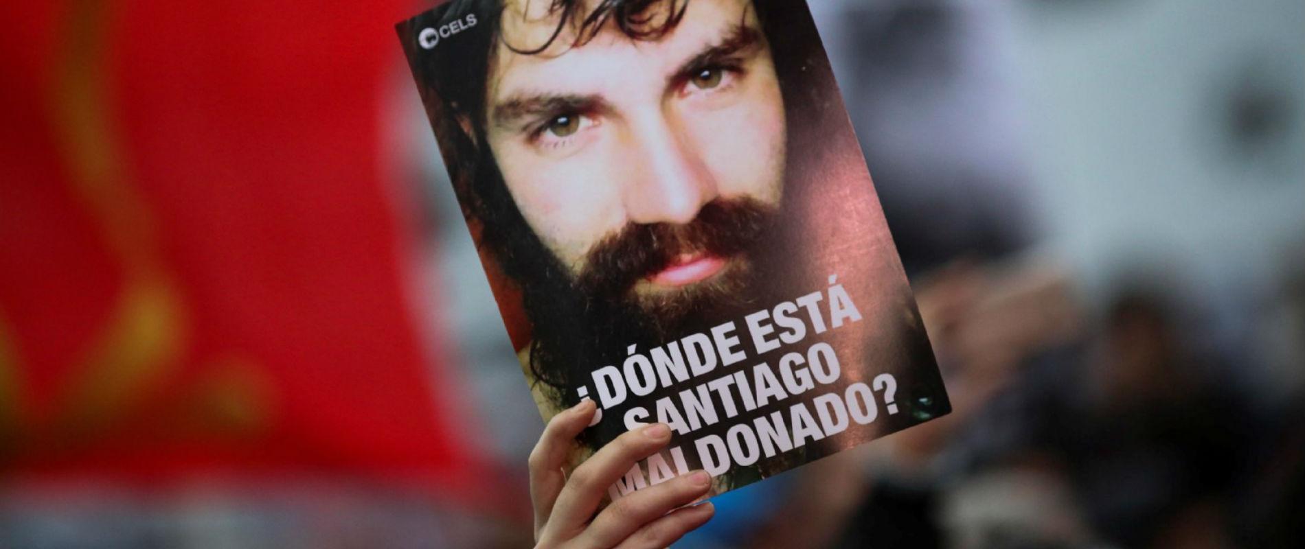 Santiago Maldonado: Dolor. Respeto, Verdad y Justicia