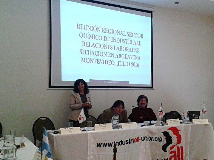 El SOEPU en el 2° encuentro del sector químico de América Latina