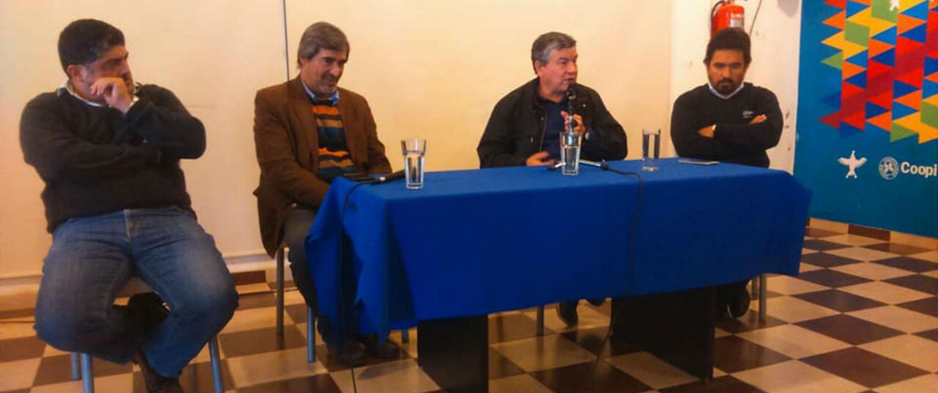 Pedro Wasiejko en la Coopi: