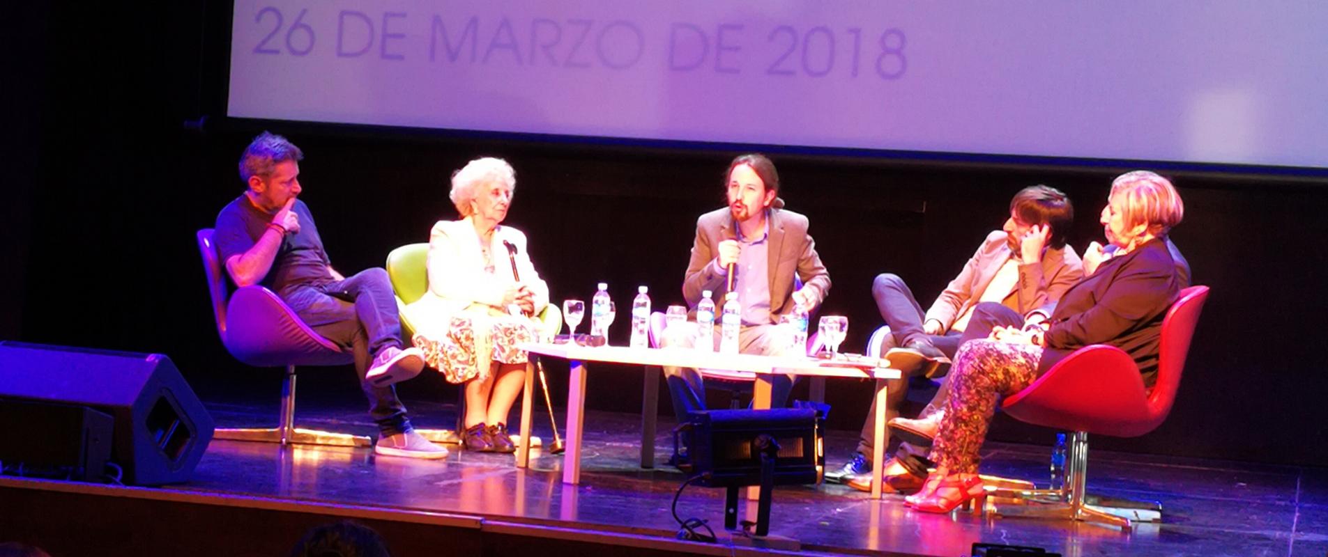Doctorado Honoris Causa para Pablo Iglesias