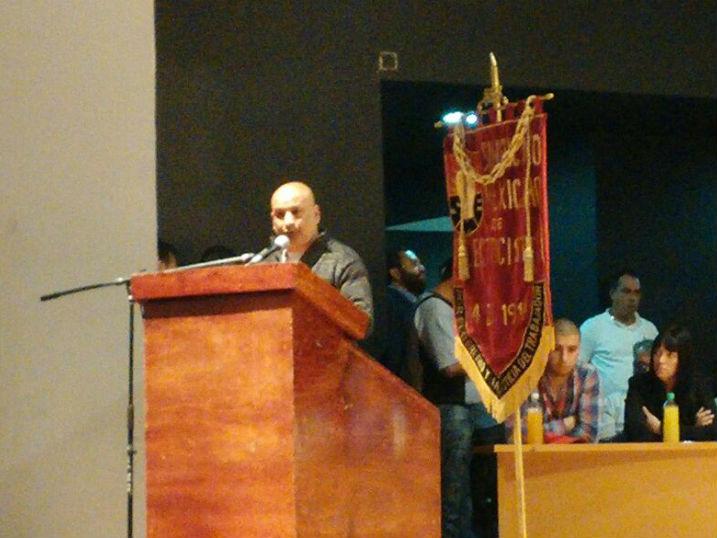 El compañero Adrián Tapari expresa con claridad y convicción nuestro compromiso y solidaridad con los  maestros y trabajadores mejicanos.