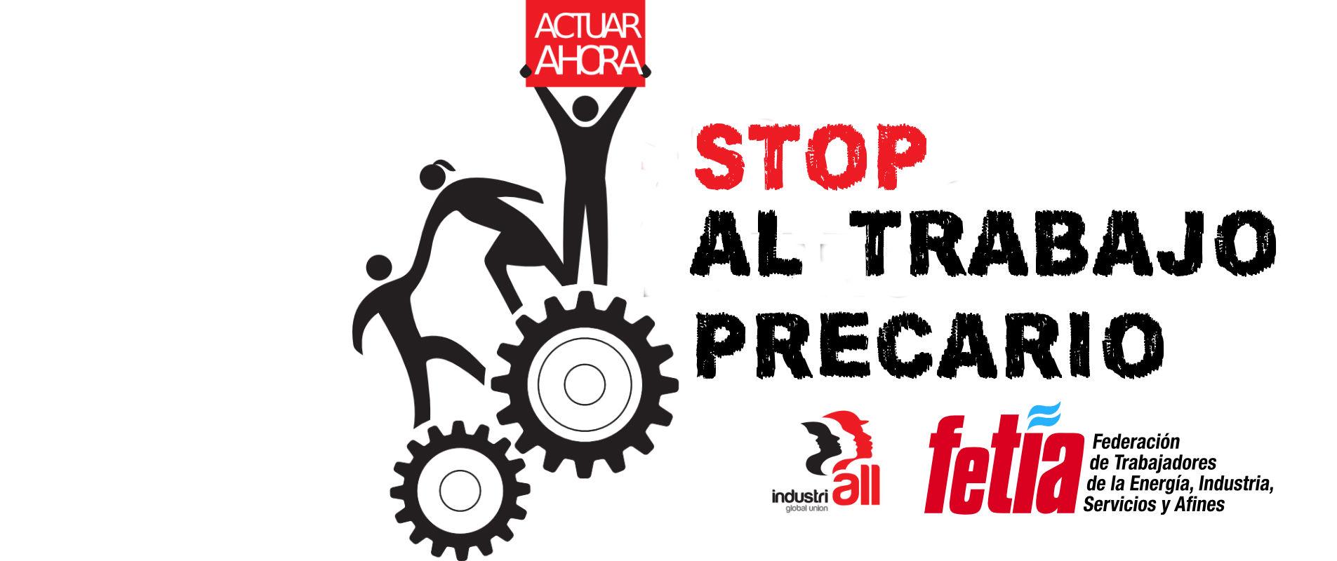 7 de octubre - Jornada mundial contra el trabajo precario